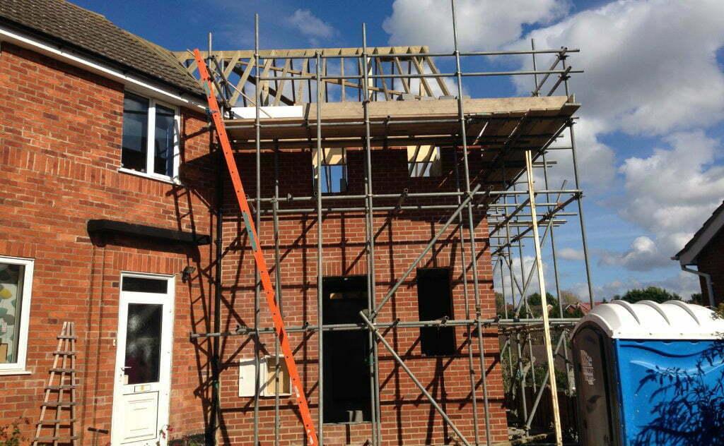Bemerton new build during